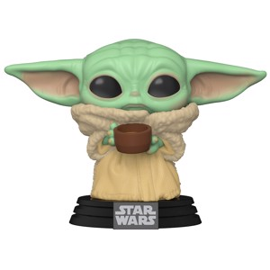 Star Wars - The Mandalorian The Child with Cup Pop! Vinyl Figure