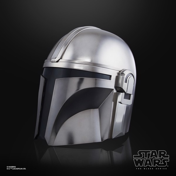 Star Wars - The Black Series The Mandalorian Premium Electronic Helmet - Packshot 3