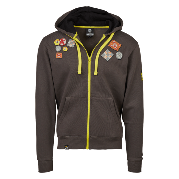 Overwatch - Ultimate Roadhog Unisex Hoodie - Grey - Size: XL - Packshot 1