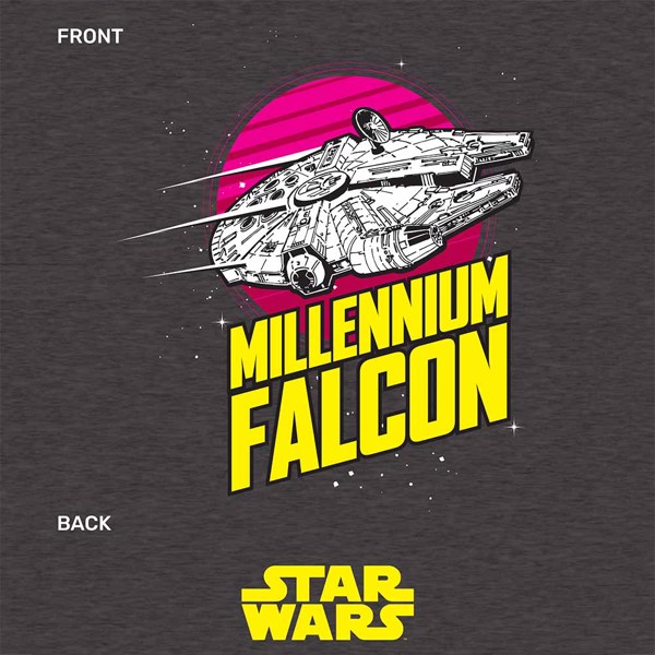 Star Wars - Millennium Falcon Zoom T-Shirt - L - Packshot 2
