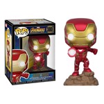 Avengers 3: Infinity War - Iron Man Electronic Light Up Pop! Vinyl Figure  - Packshot 1