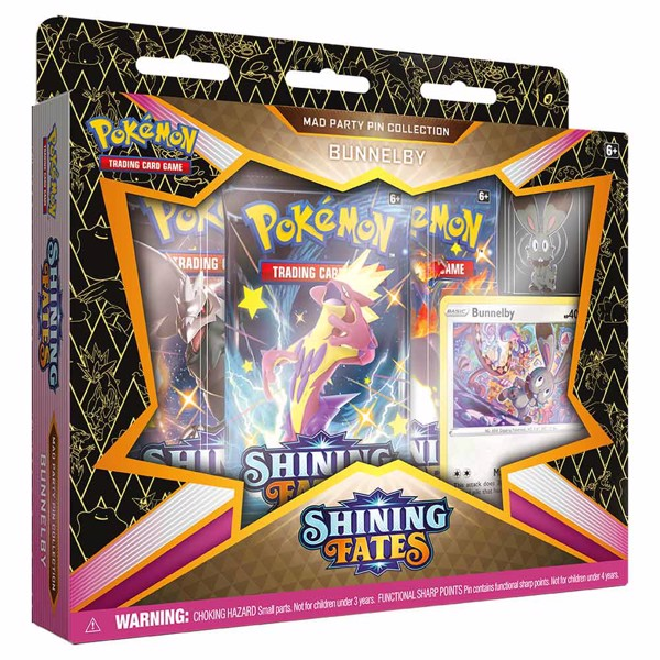 Pokemon - TCG - Shining Fates Mad Party Pin Collection - Packshot 2