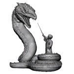 Harry Potter - Harry & Basilisk Premium Motion Statue - Packshot 1