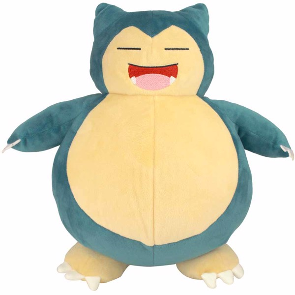 Pokemon - Snooze Action Snorlax Plush - Packshot 1