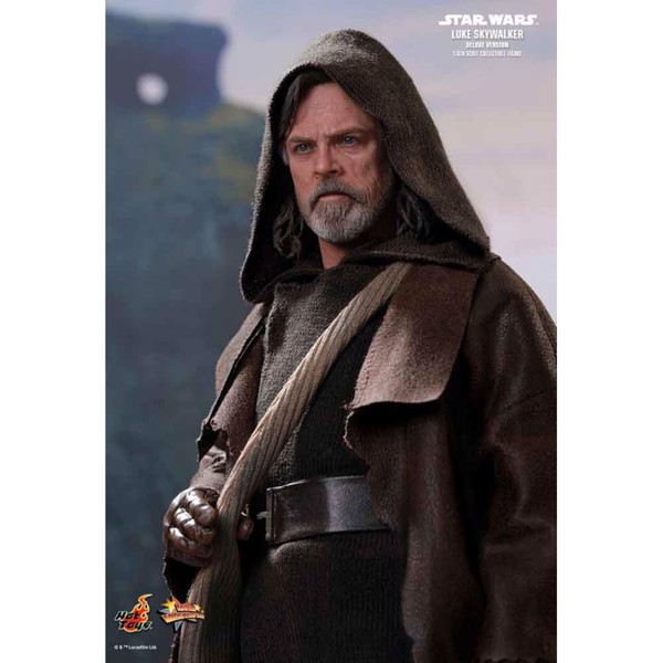 "Star Wars - Luke Skywalker Deluxe Episode VIII The Last Jedi 12"" 1/6 Scale Action Figure - Packshot 2"