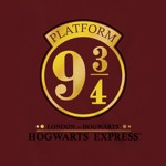 Harry Potter - Platform 9 3/4 Gold T-Shirt - Packshot 2