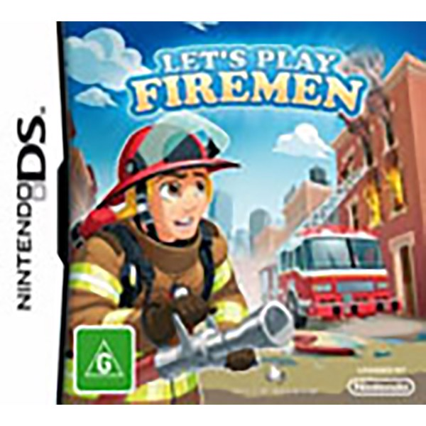 Let's Play Firemen - Packshot 1
