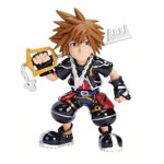 "Kingdom Hearts - Sora 6"" Metals Die-Cast Figure - Packshot 1"