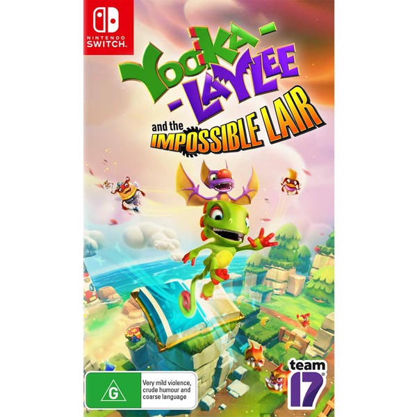 Yooka Laylee and the Impossible Lair - Packshot 1