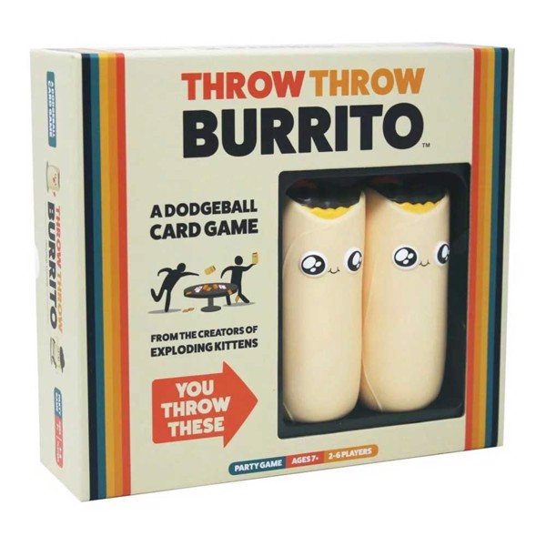 Throw Throw Burrito Card Game - Packshot 1