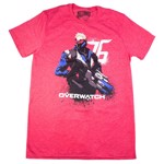 Overwatch - Soldier 76 Red T-Shirt - Packshot 1