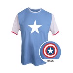Marvel - Avengers - Captain America Shield Kids T-Shirt - Packshot 1