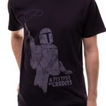 Star Wars - The Mandalorian - A Fistful Of Credit Black T-Shirt - Packshot 3
