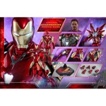 "Marvel - Avengers 4: Endgame - Iron Man Mark LXXXV 12"" 1/6 Scale Diecast Action Figure - Packshot 6"