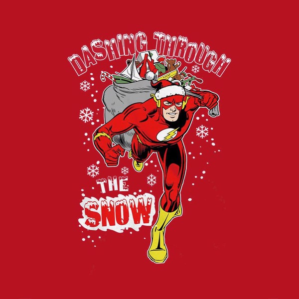 DC Comics - The Flash Dashing Christmas T-Shirt - XS - Packshot 2