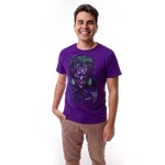DC Comics - Joker Face Purple T-Shirt - Packshot 2