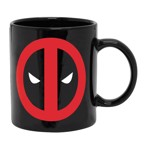Marvel - Deadpool - Eyes Mug - Black - Packshot 1