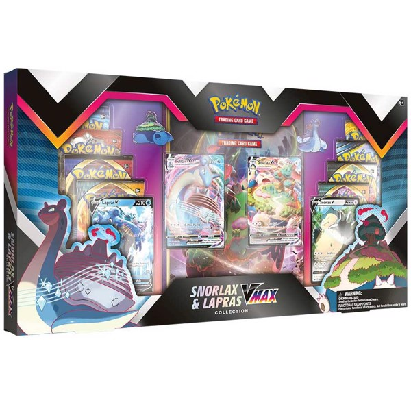 Pokemon - TCG - Snorlax and Lapras Premium Collection - Packshot 1