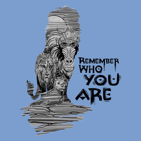 Disney - The Lion King - Remember Who You Are T-Shirt - Packshot 2