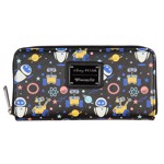 Disney - WALL-E & EVE All-Over Print Zip-Around Loungefly Wallet - Packshot 1