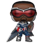 Marvel - Falcon & The Winter Soldier Captain America (Pose) Pop! Vinyl Figure - Packshot 1