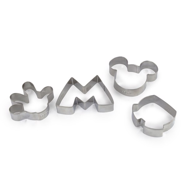 Disney - Mickey Mouse - Mickey and Minnie Pinache Cookie Cutter 4 Pack - Packshot 1