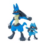 Pokemon - Riolu and Lucario DIY Kit Figures - Packshot 1