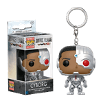 DC Comics - Justice League - Cyborg Pop! Keyring Vinyl Figure - Packshot 1