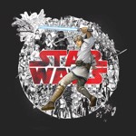 Star Wars - Luke Comic T-Shirt - XS - Packshot 2