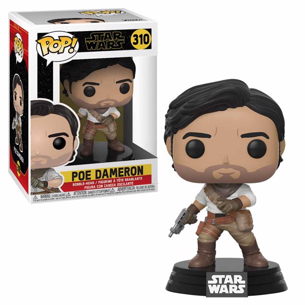 Star Wars - Episode IX - Poe Dameron Pop! Vinyl Figure - Packshot 1