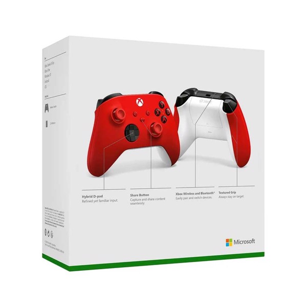 Xbox Wireless Controller Pulse Red - Packshot 5