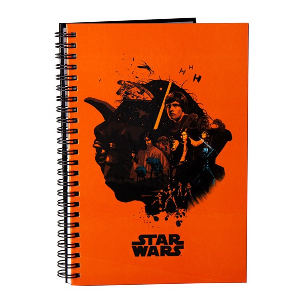 Star Wars - May The 4th Heroes Notebook - Packshot 1