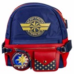 Marvel - Captain Marvel Danielle Nicole Backpack & Belt Bag
