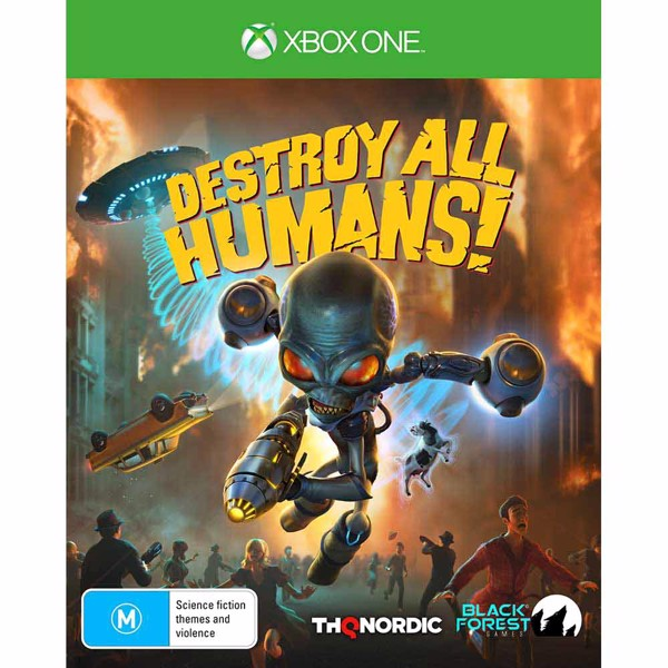 Destroy All Humans! - Packshot 1
