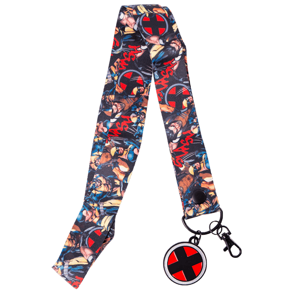 Marvel - Wolverine Comic XL Lanyard With Charm - Packshot 1