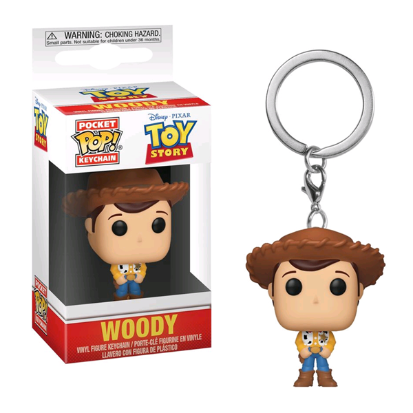Disney - Toy Story - Woody Pocket Pop! Keychain - Packshot 1