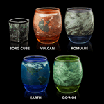 Star Trek - ThinkGeek Planetary Glassware Set of 5 - Packshot 3