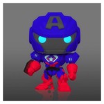 Marvel - Avengers Captain America - Mech Strike Glow Pop! Vinyl Figure - Packshot 2