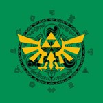 The Legend of Zelda - Hylian Crest T-Shirt - L - Packshot 2