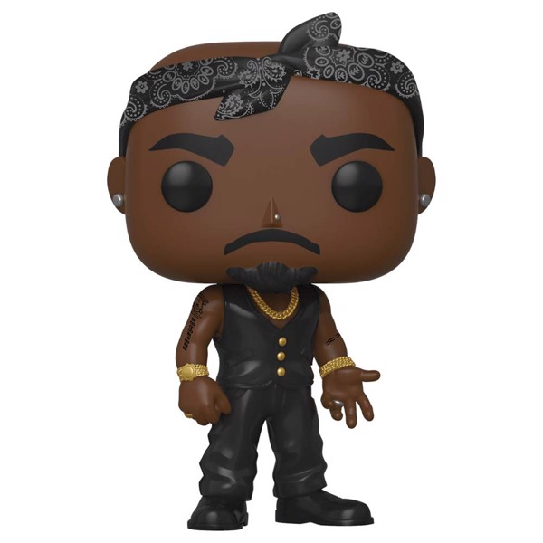 Music - Tupac Shakur Vest Pop! vinyl figures - Packshot 1