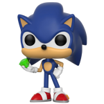 Sonic the Hedgehog - Sonic with Emerald Pop! Vinyl Figure - Packshot 1