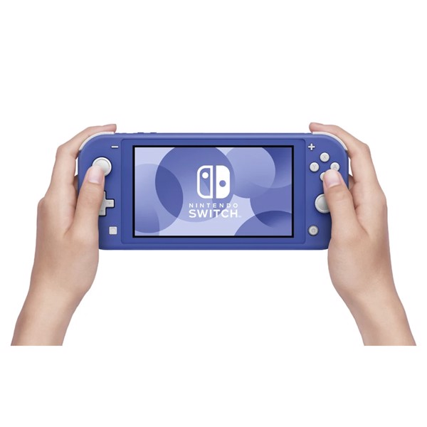 Nintendo Switch Lite Console - Blue - Packshot 4