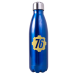 Fallout - Fallout 76 - Vault 76 Blue Stainless Steel Water Bottle - Packshot 1