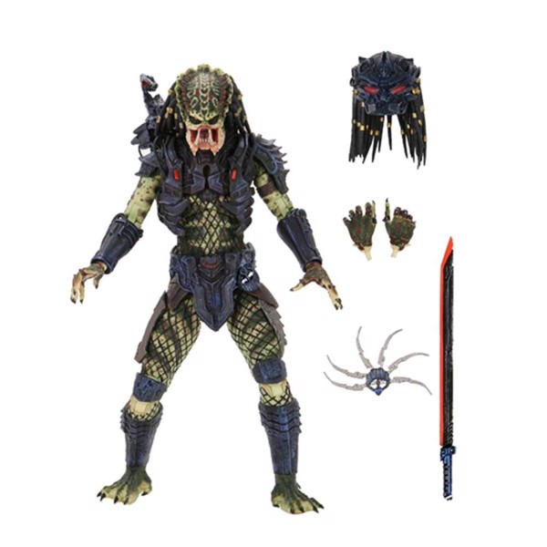"Predator 2 - Armored Lost Predator Ultimate 7"" Action Figure - Packshot 1"