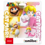 Nintendo amiibo (Super Mario 3D World) - Cat Mario & Cat Peach 2-Pack