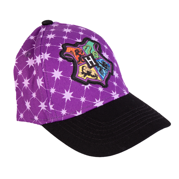 Harry Potter - Hogwarts Logo Purple Cap - Packshot 1