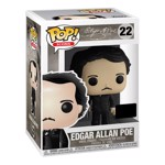 Icons - Edgar Allen Poe With Book NYCC19 Pop! Vinyl Figure - Packshot 2