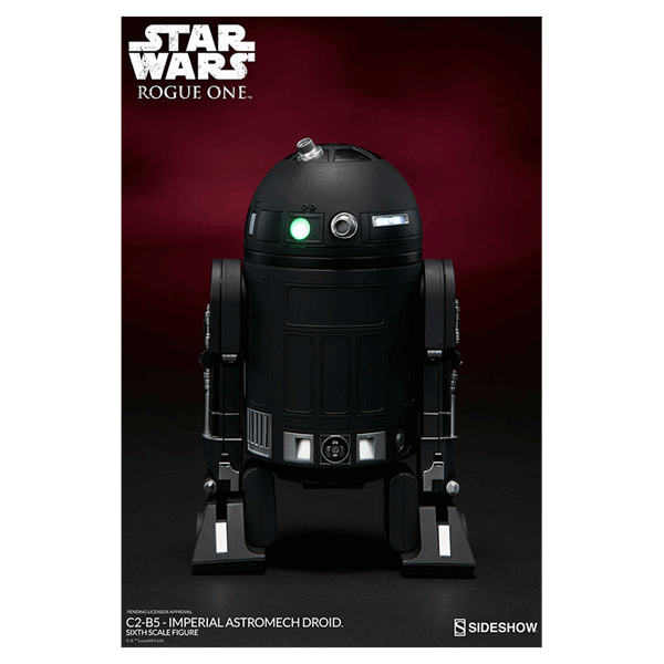 Star Wars - Rogue One - C2-B5 Imperial Astromech Droid 1/6 Scale Figure - Packshot 4