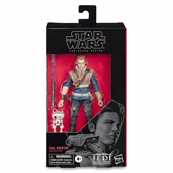 "Star Wars - Jedi Fallen Order - Cal Kestis 6"" Black Series Action Figure - Packshot 2"