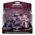 Five Night's At Freddys - HeroWorld - Yenndo and Funtime Foxy  2-Pack - Packshot 1